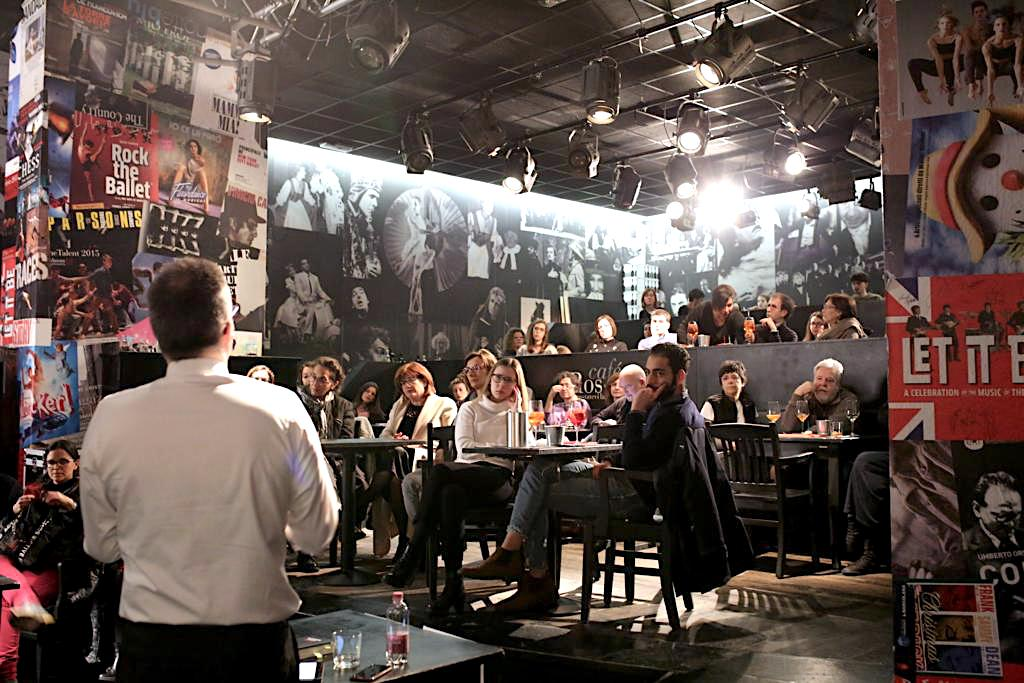sorsi di cultura al café Rossetti